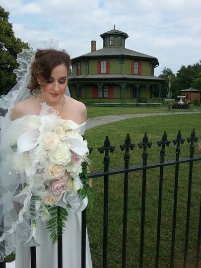 A lovely bride at Hyde