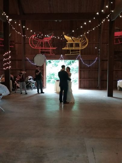 First dance in the Carriage Ba