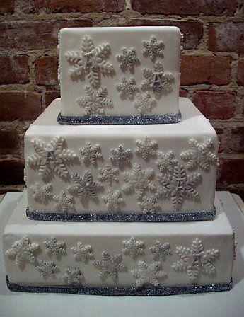 Tmx 1264547368048 Snowflake Weehawken wedding cake