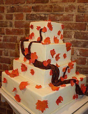 Tmx 1264547368985 Fallweddingcake Weehawken wedding cake