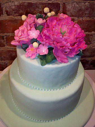 Tmx 1264547370235 Pink30thbdaycake Weehawken wedding cake