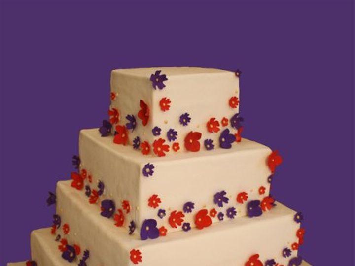 Tmx 1264547377657 Hudsoncakeryweddingcake0110 Weehawken wedding cake