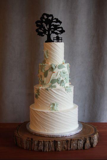 Frosted fox cake shop wedding cake mt airy pa weddingwire 800x800 1467129713834 img5055 junglespirit Gallery