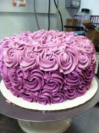 wedding ambre cake