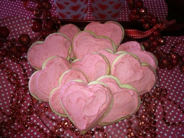 Tmx 1420497077010 Heart Cookie Pic. Los Osos wedding cake