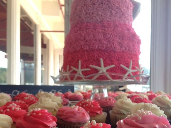Tmx 1429647084826 Hot Pink 2 Los Osos wedding cake