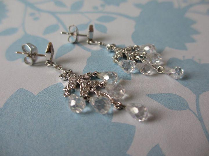Tmx 1339789046300 SBBONEARRINGS022 Boonton wedding jewelry