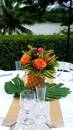 Pineapple decor