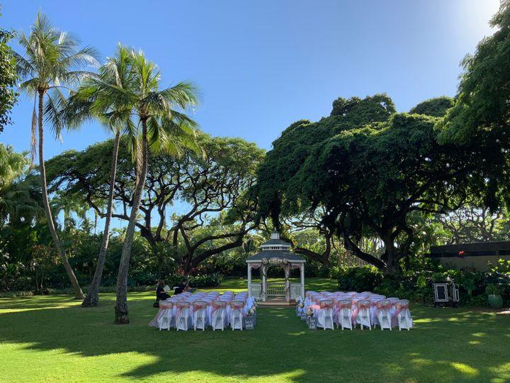 Hale Koa ceremony