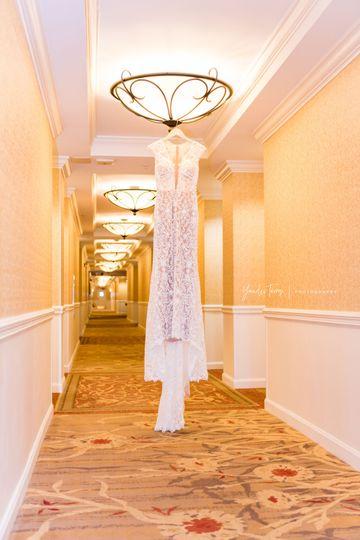 Hall and dress