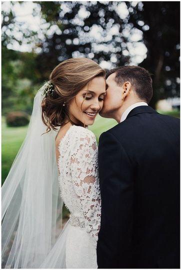 Bridal natural makeup