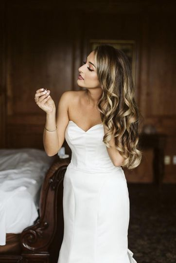 Glam with waves