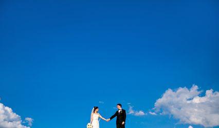 The wedding of David and Monica