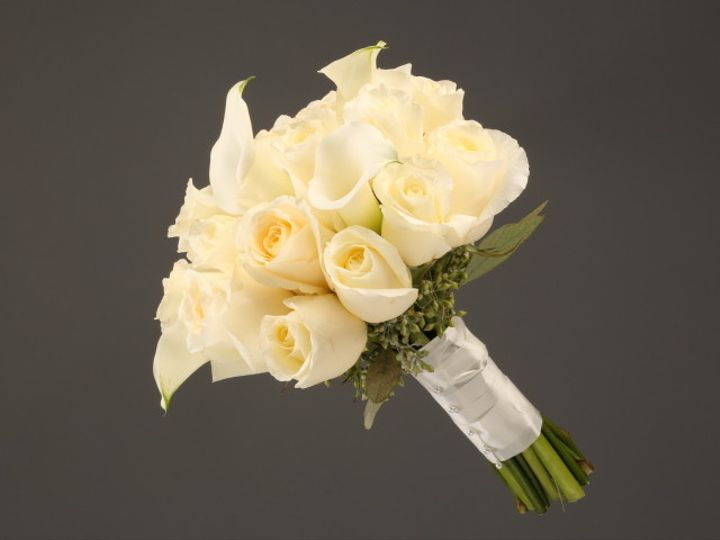Tmx 1467150650485 9936 Mixed White Rose  Calla Sv   Copy Dearborn, MI wedding florist