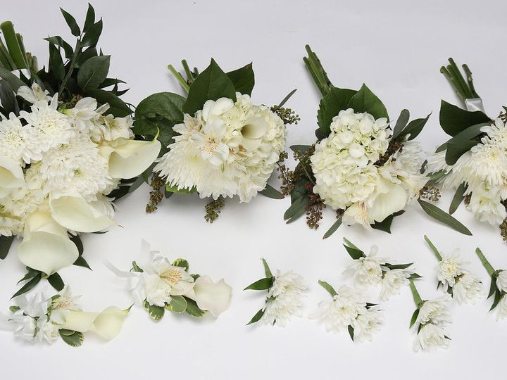 Tmx 1530919956 106d65eb5a410e5d White On White Mixed Flower Package Dearborn, MI wedding florist