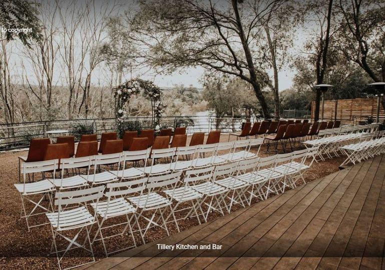 Winter wedding layout