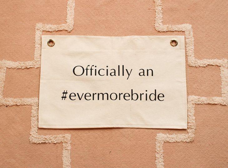 Officially an #evermorebride