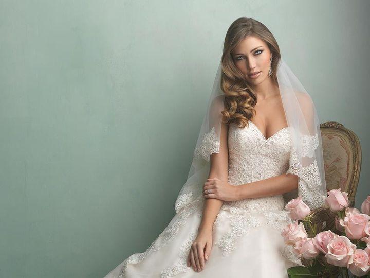 Tmx 1415905059181 With Veil McHenry, IL wedding dress