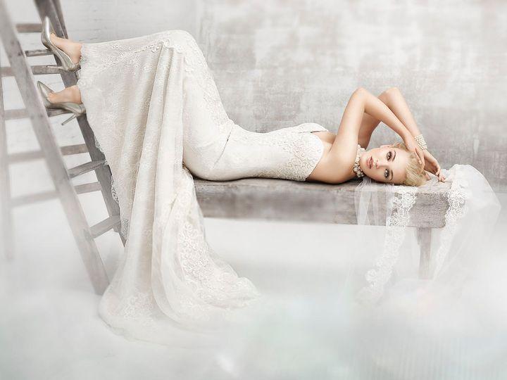 Tmx 1464729099348 Laying On Back McHenry, IL wedding dress