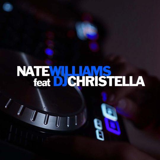 Nate Williams with DJ Christel