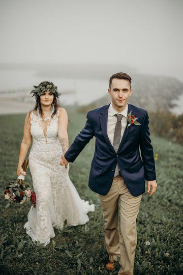 Walking into your wedding like