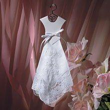 WeddingDressKeepsakeHankie