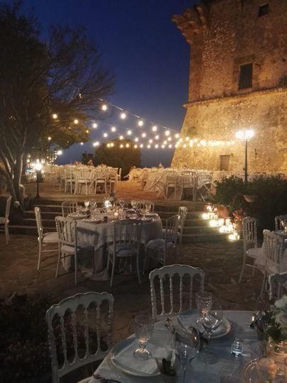 Torre di scopello banqueting