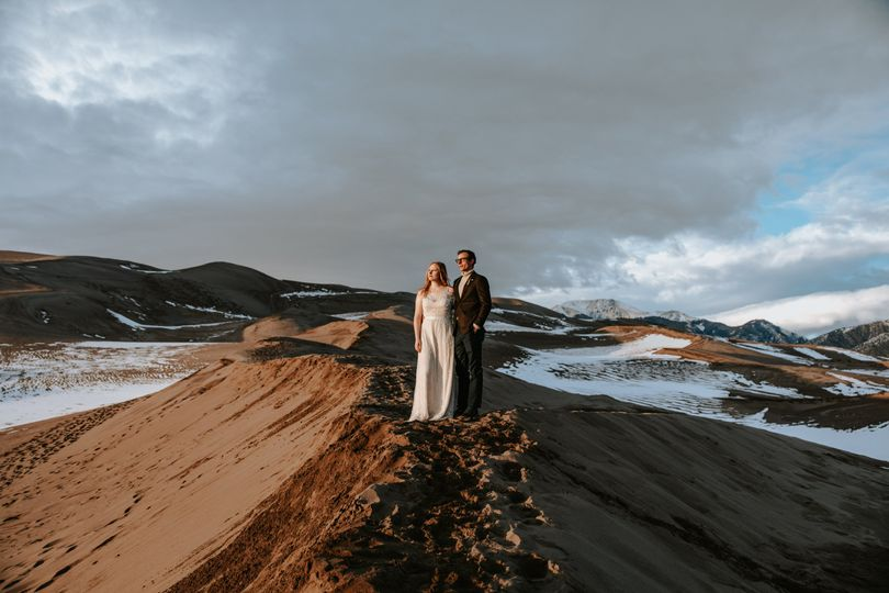 J&W eloped Great Sand Dunes