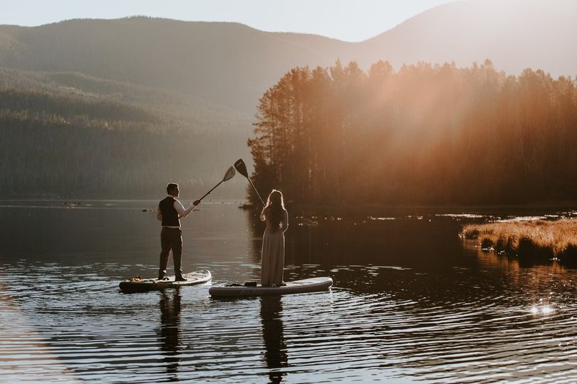 A&S Wedding Paddle Boarding