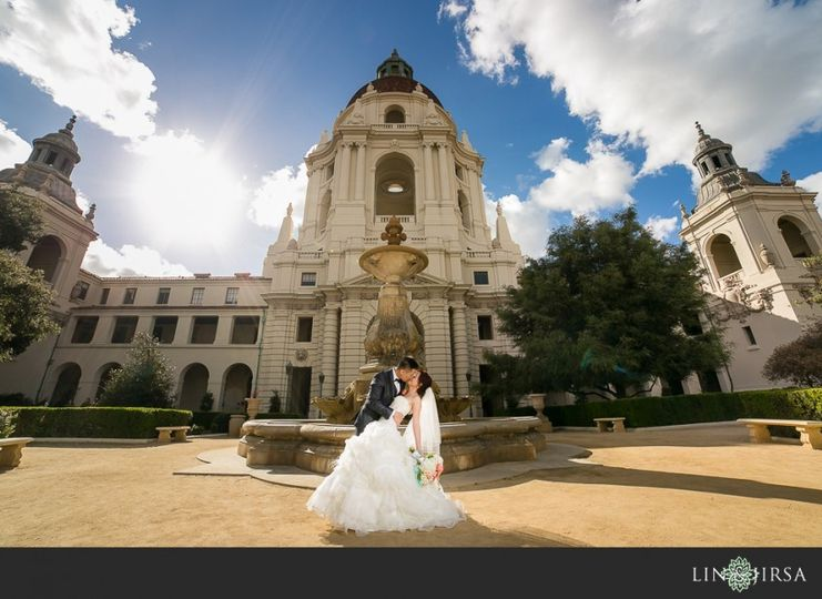 westin pasadena wedding photographer couple ses