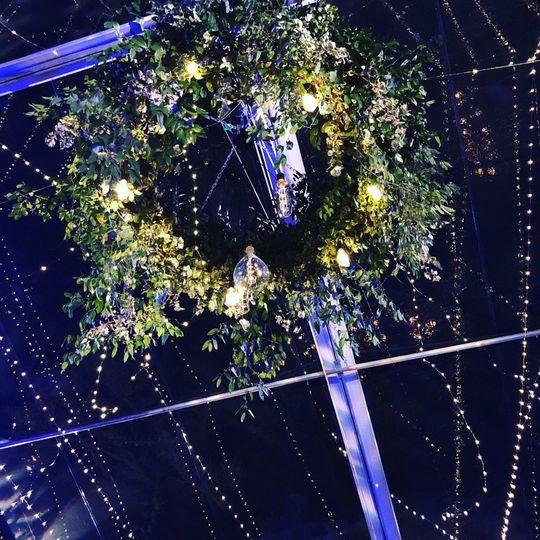 Fairy strands, suspended light