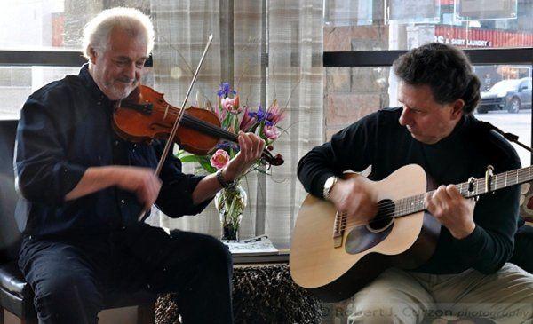 Fiddlplay Fiddler Roland White, Guitar, Mark Barringer