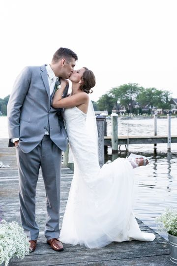 Andrew and Ginny by the water