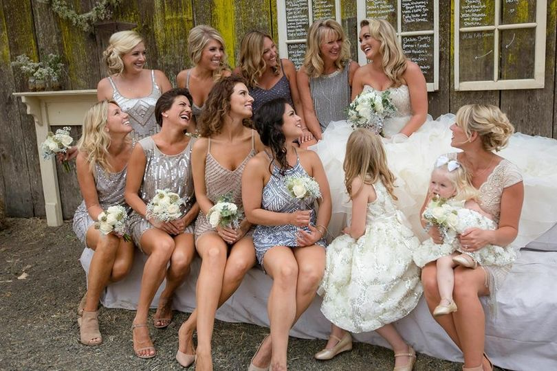 brittanys bridal party