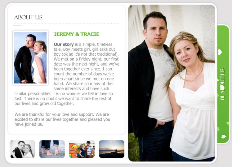 Make your wedding personal and intimate with the PictureThis! Event Kiosk. Share your wedding story...