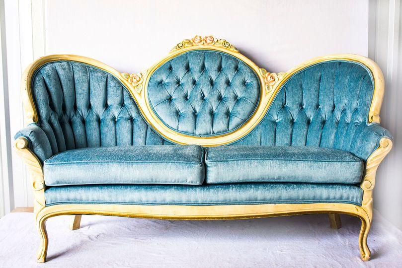 Unique vintage sofa