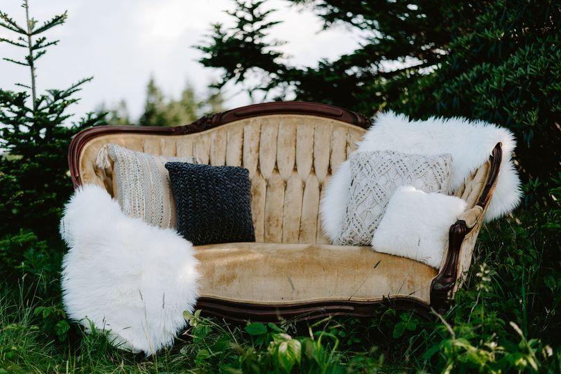 Unique vintage sofas