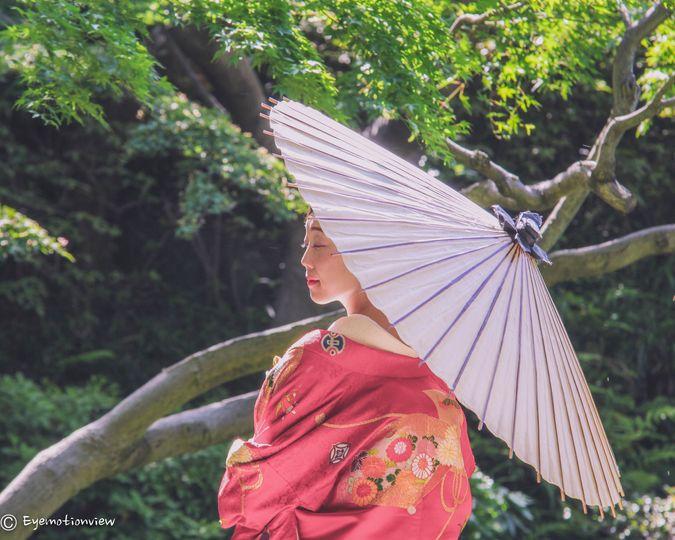 Japan wedding - Bride - Tokyo