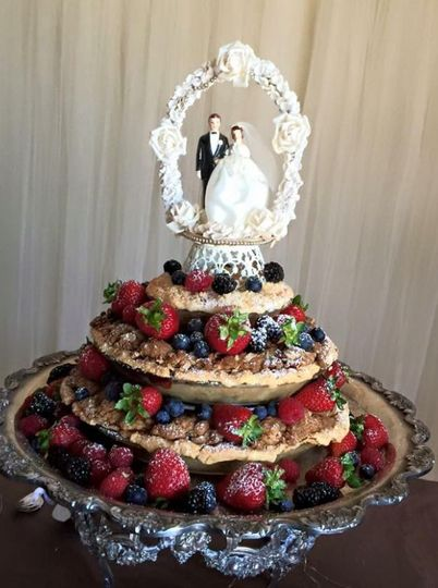 Wedding fruit cake