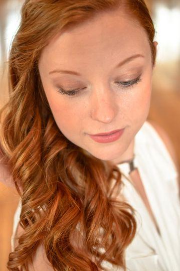 Long beautiful eyelashes