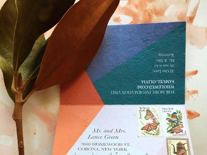 Tmx 1501100309840 Wwmagnoliav11 Woodbury, CT wedding invitation