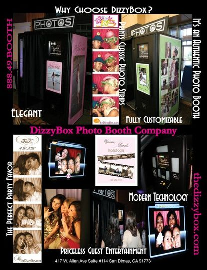 DizzyBox Photo Booth Company