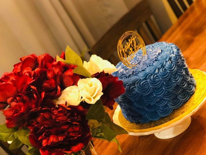 Tmx Blue Rose 51 1980369 160429321461327 Saint Louis, MO wedding cake