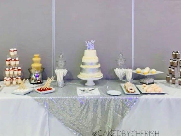 Tmx Caked By Cherish Wedding2 51 1980369 159660097948679 Saint Louis, MO wedding cake