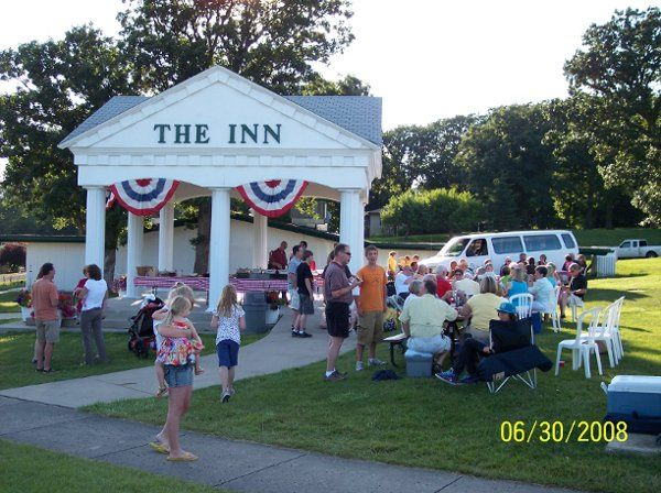 A party at the Columns.   Used as well for ceremonies, receptions..
