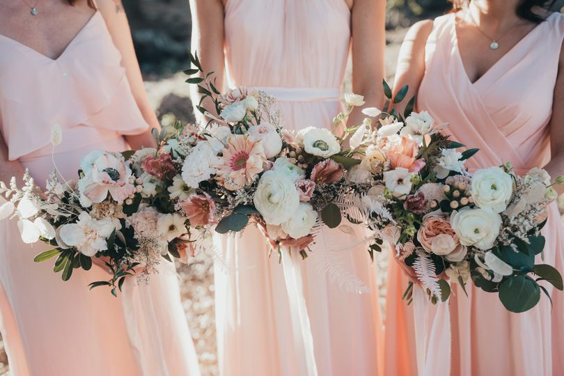 Sweet Bridesmaid Bouquets