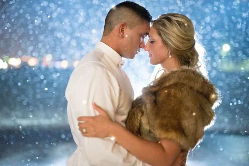 adventurous newlyweds embrace outdoors in winter s
