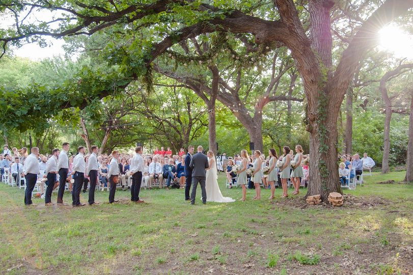 A true wedding in the woods
