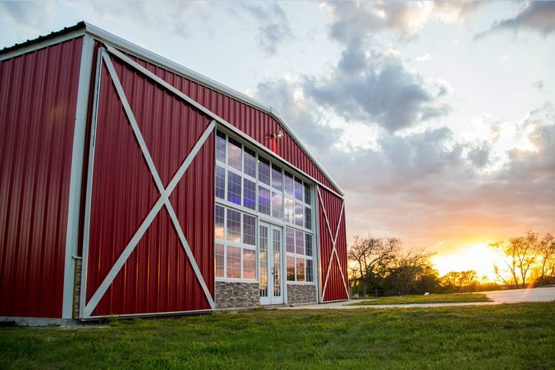 Sunset at Red Barn