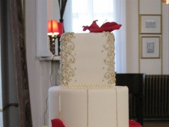 Tmx 1359587725254 Wed2 Brooklyn wedding cake